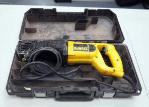 DeWalt Reciprocating Saw, Model #DW304P, Includes Carrying Case