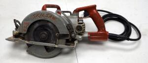 "Skilsaw Magnesium 7.25"" Electric Worm Drive Saw, Model # SHD77M"