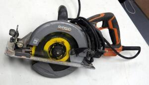 "Ridgid Magnesium 7.25 "" Worm Drive Saw Model # R32102"