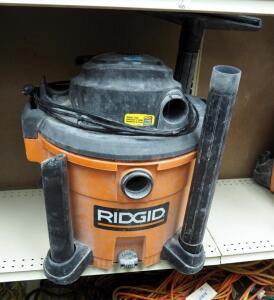 Ridgid 12 Gallon Wet/Dry Vac Model # WD12701, No Hose