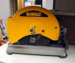 "DeWalt 14"" Electric Chop Saw, Model # D28715"