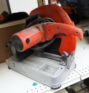 "Milwaukee 14"" Electric Abrasive Cut-Off Machine"