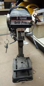 Pro-Tech 3-Speed Bench Top Drill Press Model # 1201