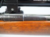 Mauser Model 98 8mm/06 Mauser Bolt Action Rifle SN# 21466, Believed To Be Mfg. 1944, With Bushnell Scope - 7