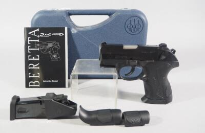 Beretta PX-4 Storm .40 S&W Pistol SN# PZ2458B, New, 2 Total Mags, With Speedloader, Paperwork And More, In Hard Case