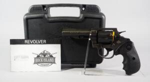 "Rock Island Armory M200 .38 Spl 6-Shot Revolver SN# RIA1969805, New, 4"" Bbl, With Paperwork, In Original Hard Case"