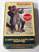 Remington Golden Bullet .22 LR Ammo, 400 Rds In Collectible Tin Gift Set With Playing Cards, Unopened, Local Pickup Only
