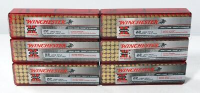Winchester .22LR Ammo, Approx 600 Rounds, Local Pickup Only