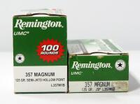Remington .357 Mag Ammo, Approx 150 Rounds, Local Pickup Only