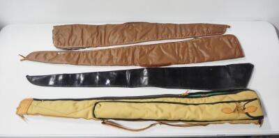 Soft Long Arm Cases Includes One Boyt And Three Unmarked