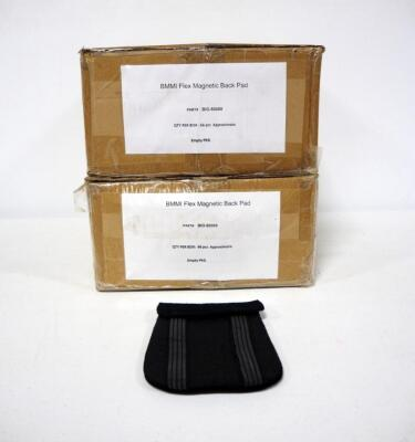 BMMI Flex Magnetic Back Pads, 2 Boxes, Approx 66 Pcs In Each Box