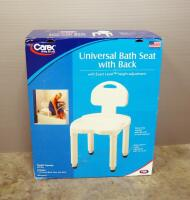 Carex Universal Bath Seat With Back