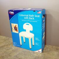 Carex Universal Bath Seat With Back - 2