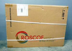 "Roscoe E Series Rollator With Padded Seat And 6"" Wheels, In Box"