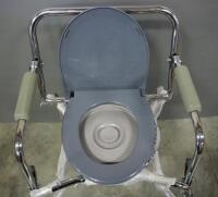 Guardian Steel Drop-Arm Commode - 4