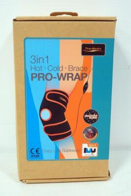 Thermedic 3-In-1 Hot Cold Brace Pro-Wrap, Knee
