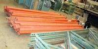 "Heavy Duty Pallet Racking Including Upright Frames Qty 5, 116"" x 42"", And 10' Load Beams Qty 41 - 3"