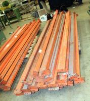 "Heavy Duty Pallet Racking Including Upright Frames Qty 5, 116"" x 42"", And 10' Load Beams Qty 41 - 4"