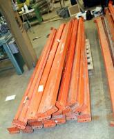 "Heavy Duty Pallet Racking Including Upright Frames Qty 5, 116"" x 42"", And 10' Load Beams Qty 41 - 5"