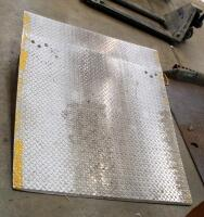 "Diamond Plate Dock Ramps, Qty 2, 55"" x 47"" And 60"" x 78"", Bidder Responsible For Proper Removal - 2"