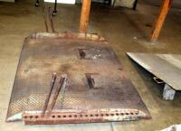 "Diamond Plate Dock Ramps, Qty 2, 55"" x 47"" And 60"" x 78"", Bidder Responsible For Proper Removal - 5"