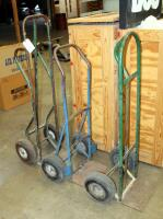 "Heavy Duty Metal Floor Dollies, Qty 3, Heights Measure 46"" To 55"" - 6"
