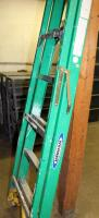 Werner 6 Foot Fiberglass Folding Stepladder, Model And Capacity Unknown - 2