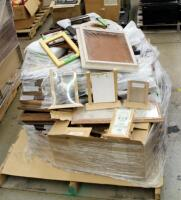 "Picture Frame Assortment Including 4"" x 6"" Table Top Frames, 5"" x 7"", 8"" x 10"", 9"" x 12"", And More, Large Qty, New Stock With Original Labels, Contents Of Pallet, Bidder Responsible For Proper Removal"