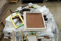 "Picture Frame Assortment Including 4"" x 6"" Table Top Frames, 5"" x 7"", 8"" x 10"", 9"" x 12"", And More, Large Qty, New Stock With Original Labels, Contents Of Pallet, Bidder Responsible For Proper Removal - 3"