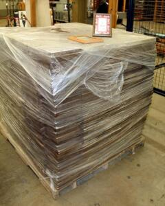 "Solid American Oak 5"" x 7"" Picture Frames With Glass Fronts, Large Qty, New Stock, Contents Of 1 Pallet, Bidder Responsible For Proper Removal"