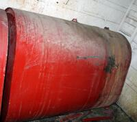 "Large Capacity Liquid Material Tank, Previously Used For Thinner, 44"" x 61"" x 29"", Bidder Responsible For Proper Removal"