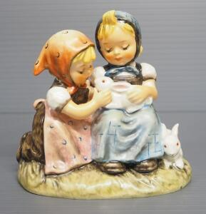 "M I Hummel ""Easter Time"" Figurine No. 384, 4"" High"