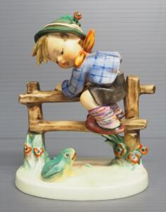 "M I Hummel ""Retreat To Safety"" Figurine No. 201, 5.5"" High, Three Line Mark"