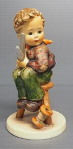 "M I Hummel ""Little Tailor"" Figurine No. 308, 5.5"" High, 1972 Engraving Year, Last Bee Mark"