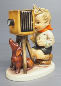 "M I Hummel ""The Photographer"" Figurine No. 178, 5"" High, 1948 Engraving Year, Three Line Mark"