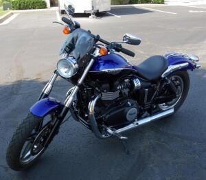 2013 Triumph Speedmaster Motorcycle, 2671 Miles, VIN # SMT915RN6DT568064, Many Upgrades And Modifications - SEE VIDEO AND DESCRIPTION