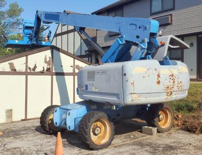 Genie S-65 Telescopic Boom Lift, 514.3 Hours, LOCATED IN KANSAS CITY, KS, PREVIEW BY APPT 9/8, SEE DESCRIPTION FOR STATS AND VIDEO, PLEASE BRING PROPER EQUIPMENT AND LABOR FOR SAFE REMOVAL