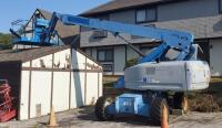 Genie S-65 Telescopic Boom Lift, 514.3 Hours, LOCATED IN KANSAS CITY, KS, PREVIEW BY APPT 9/8, SEE DESCRIPTION FOR STATS AND VIDEO, PLEASE BRING PROPER EQUIPMENT AND LABOR FOR SAFE REMOVAL - 2