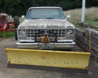 1980 Chevrolet Pickup Truck With Plow Blade, Heavy Rust, Farm Truck, Unknown Working Condition, VIN# CKL24AS129948, LOCATED IN INDEPENDENCE, PREVIEW BY APPT 9/8, SEE VIDEO - 2