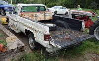 1980 Chevrolet Pickup Truck With Plow Blade, Heavy Rust, Farm Truck, Unknown Working Condition, VIN# CKL24AS129948, LOCATED IN INDEPENDENCE, PREVIEW BY APPT 9/8, SEE VIDEO - 9