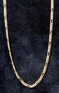 "14K Gold Necklace, 18"" Long, 4.23 g Total Weight"