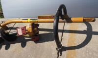 "Post-Hole Digger With 12"" Diameter Auger, Hydraulic Mounted - 4"