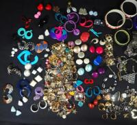 Costume Jewelry, Includes Bracelets, Rings, Earrings, Pins And More - 2