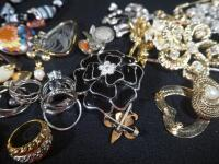 Costume Jewelry, Includes Bracelets, Rings, Earrings, Pins And More - 5