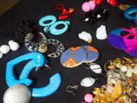 Costume Jewelry, Includes Bracelets, Rings, Earrings, Pins And More - 8