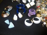 Costume Jewelry, Includes Bracelets, Rings, Earrings, Pins And More - 9
