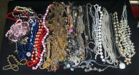 Costume Necklaces, Includes Silver Tones, Gold Toned And Multicolored