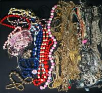 Costume Necklaces, Includes Silver Tones, Gold Toned And Multicolored - 2