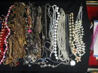 Costume Necklaces, Includes Silver Tones, Gold Toned And Multicolored - 4