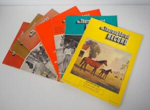 "Collection Of ""The Thoroughbred Record"" Magazines, All 1964, Total Qty 7"